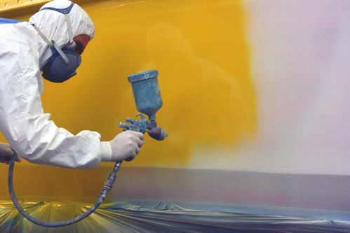 Pintado de embarcaciones pintar con antifouling - Como pintar a pistola ...